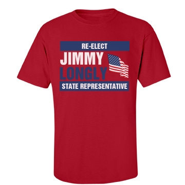 State Rep Election Tee Unisex Port & Company Essential Tee