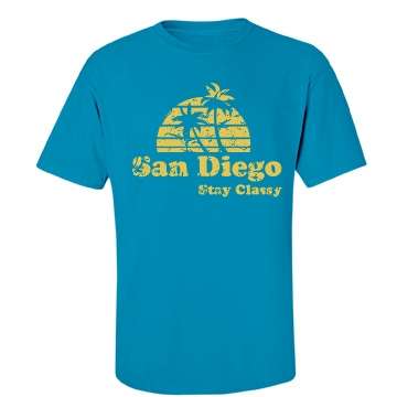 Stay Classy Unisex Port & Company Essential Tee