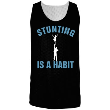 Stunting Habit Pinnie Badger Sport Mesh Reversible Tank