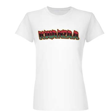 Styled Kwanzaa  Junior Fit Basic Bella Favorite Tee