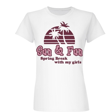 Sun & Fun Junior Fit Basic Bella Favorite Tee