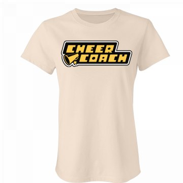 Super Cheer Coach Junior Fit Bella Favorite Tee