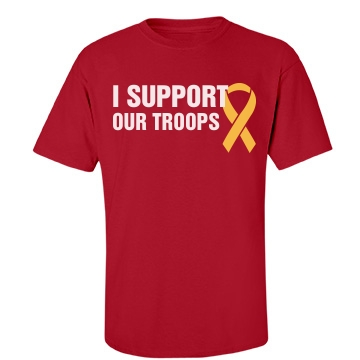 Support Our Troops Unisex Port & Company Essential Tee