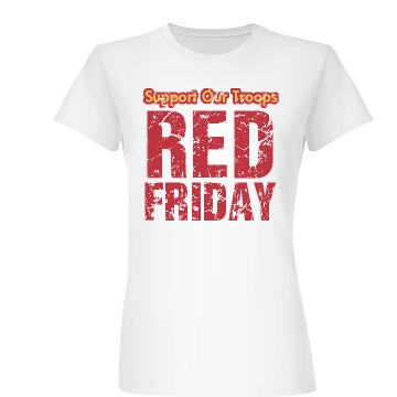 Support Troops Friday Junior Fit Basic Bella Favorite Tee