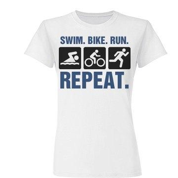 Swim Bike Run Repeat