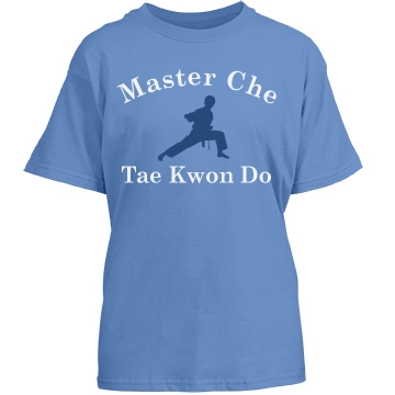 Tae Kwon Do Studio Promo Youth Gildan Heavy Cotton Crew Neck Tee