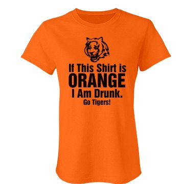 Tailgating Tigers Junior Fit Bella Favorite Tee