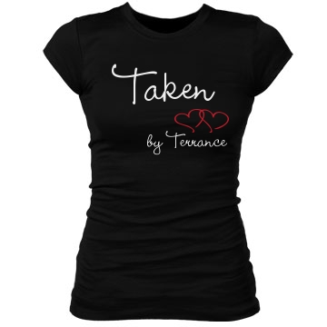 Taken by Terrance Junior Fit Bella Sheer Longer Length Rib Tee