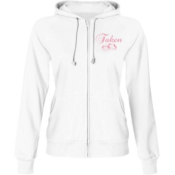 Taken Junior Fit Bella Fleece Raglan Full Zip Hoodie