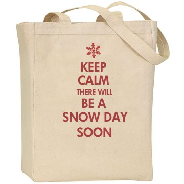 Teacher Snow Day Bag