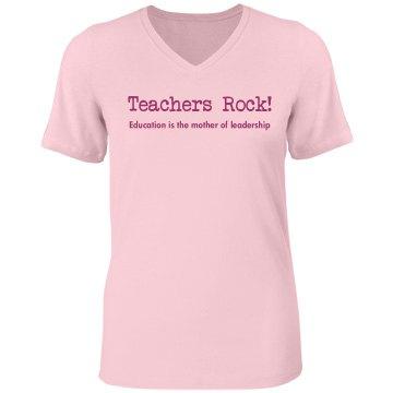 Teachers Rock Tee