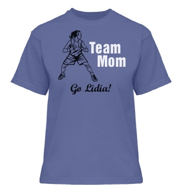 Team Basketball Mother Misses Relaxed Fit Gildan Heavy Cotton Tee