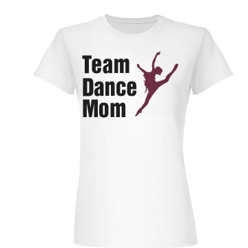 Team Dance Mom Junior Fit Basic