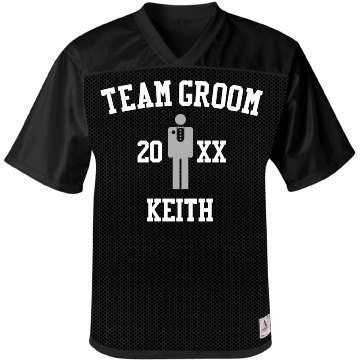 Team Groom Jersey