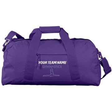 Team Name Rhinestone Bag