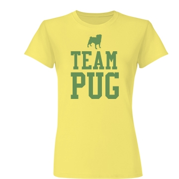 Team Pug Junior Fit Basic Bella Favorite Tee