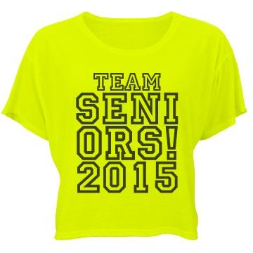 Team Seniors 2015