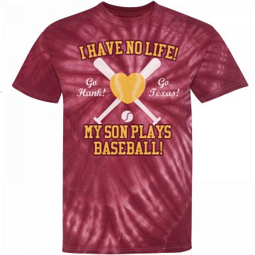Texas Baseball Mom Unisex