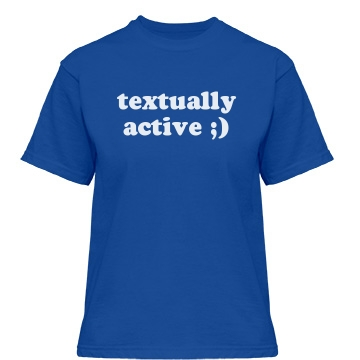 Textually Active Misses Relaxed Fit Gildan Heavy Cotton Tee
