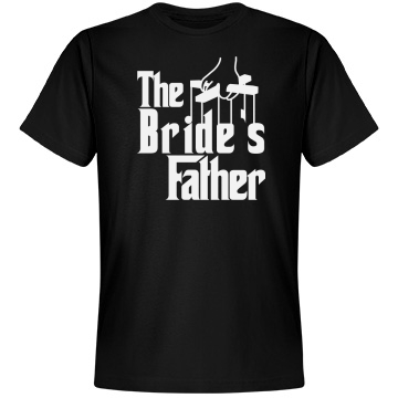 The Bride's Father Logo Unisex Anvil Lightweight Fashion Tee