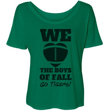 The Football Boys Of Fall Bella Flowy Lightweight Simple Tee