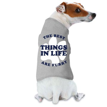 The Furry Best Doggie Skins Dog Tank Top