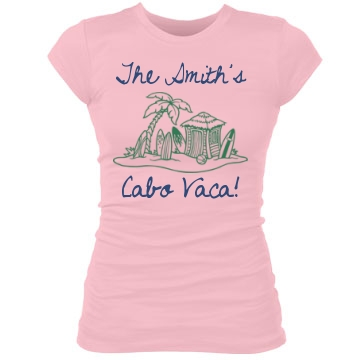 The Jones's Vacation Junior Fit Bella Sheer Longer Length Rib Tee
