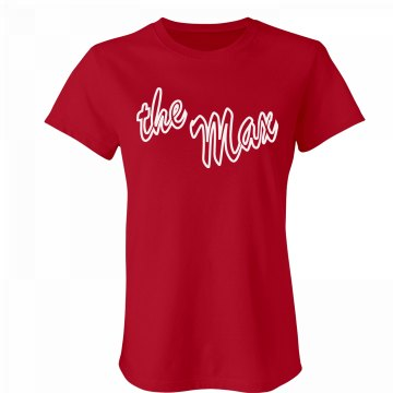 The Max - Women's Tee Junior Fit Bella Favorite Tee