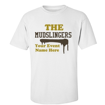 The Mudslingers Unisex Basic Port & Company Essential Tee