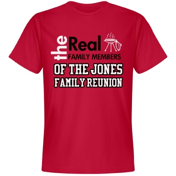 The Real Family Reunion Unisex Anvil Lightweight Fashion Tee