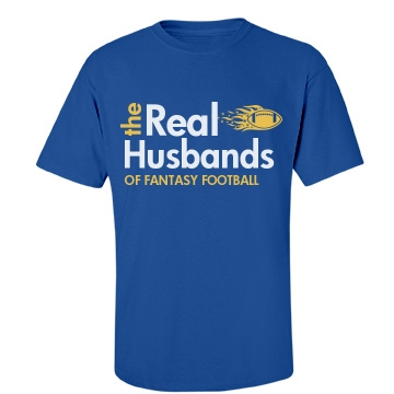 The Real Husbands Unisex Gildan Heavy Cotton Crew Neck Tee