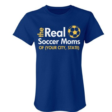 The Real Soccer Moms Junior Fit Bella Favorite Tee