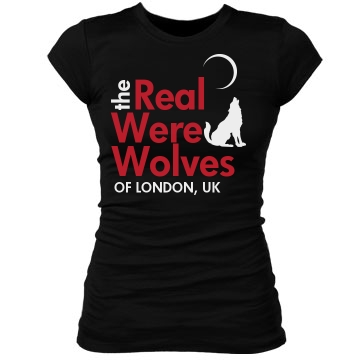 The Real Werewolves of UK Junior Fit Bella Sheer Longer Length Rib Tee