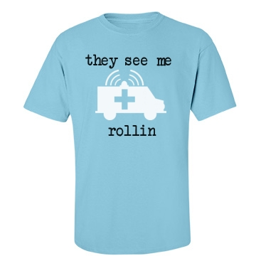 The See Me Rollin Unisex Gildan Heavy Cotton Crew Neck Tee