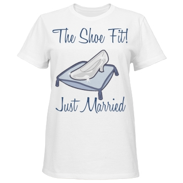 The Shoe Fit Just Married