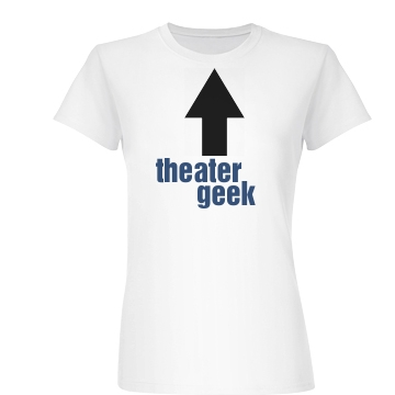 Theater Geek Junior Fit Basic Bella Favorite Tee