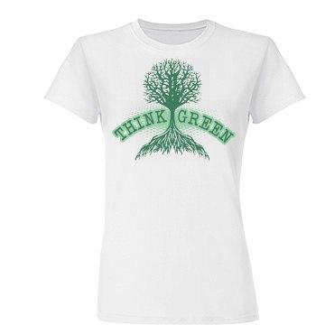 Think Green Tree