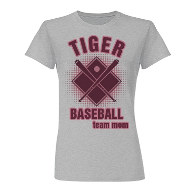 Tiger Baseball Mom Junior