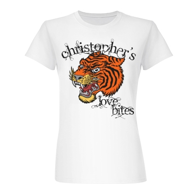 Tiger Tattoo T-Shirt Junior Fit Basic Bella Fav