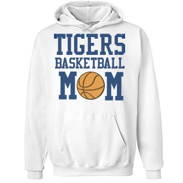 Tigers B Ball Mom Unisex Hanes Ultimate Cotton Heavyweight Hoodie