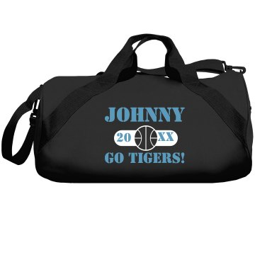 Tigers Basketball Bag Liberty Bags Barrel Duffel Bag