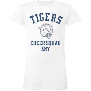 Tigers Cheer Squad
