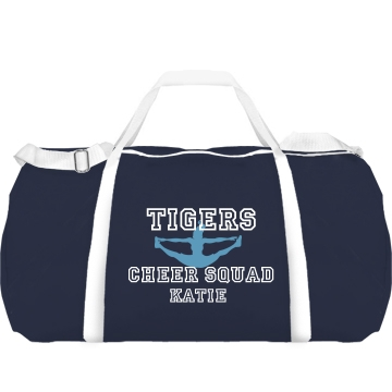 Tigers Cheer w/ Back Augusta Sport Roll Bag
