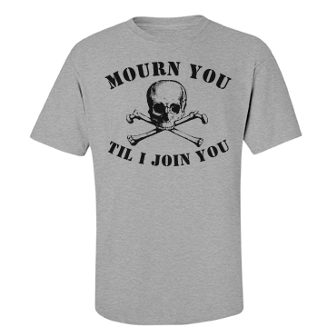 Til I Join You Skull