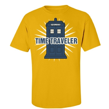 Time Traveler Unisex Gildan Heavy Cotton