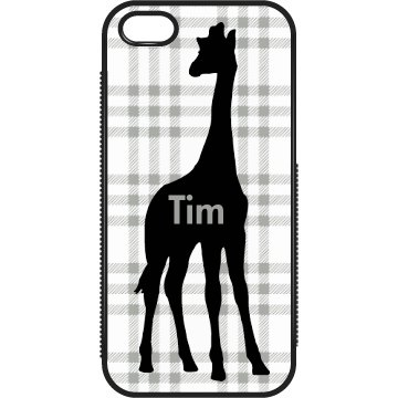 Tim's Giraffe iPhone Case