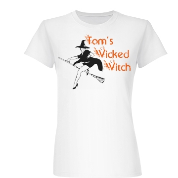 Tom's Wicked Witch Junior Fit Basic Bella Favorite Tee