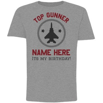 Top Gunner Birthday