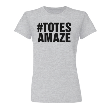 Totes Amaze Junior Fit Basic Bella Favorite Tee