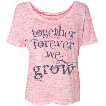 Towing Love Bella Flowy Lightweight Simple Tee